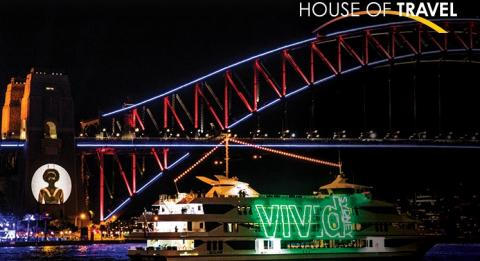 Vivid Sydney with Vivid Light Cruise