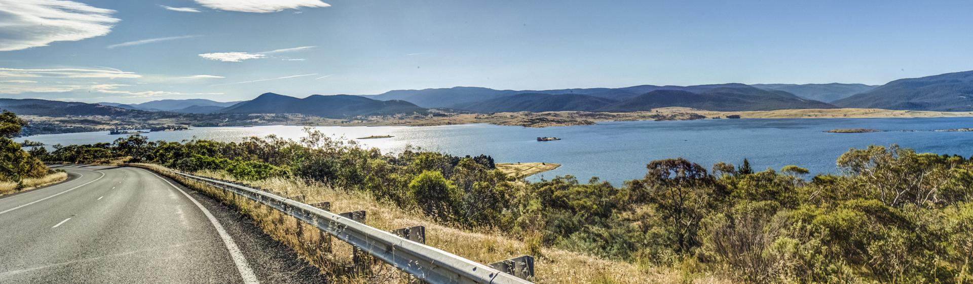 Lake Jindabyne, Kosciuszko National Park