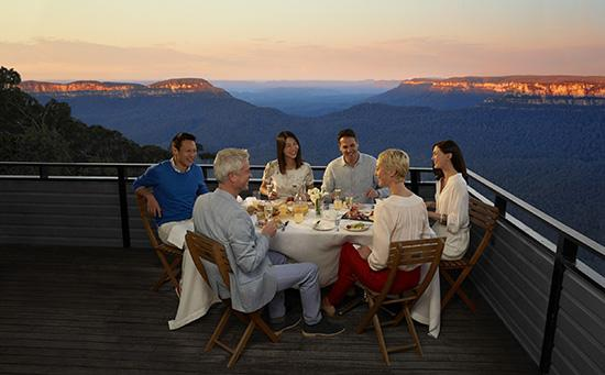 Dining in the Blue Mountains